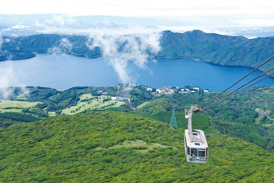 箱根駒ヶ岳ロープウェーからの眺望