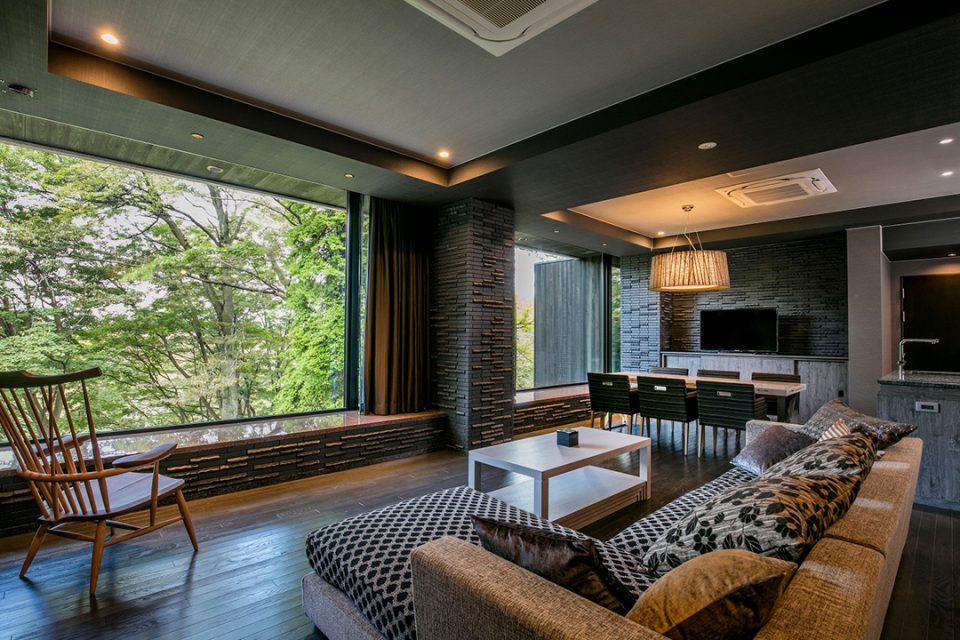 カナヤリゾートハコネの客室1