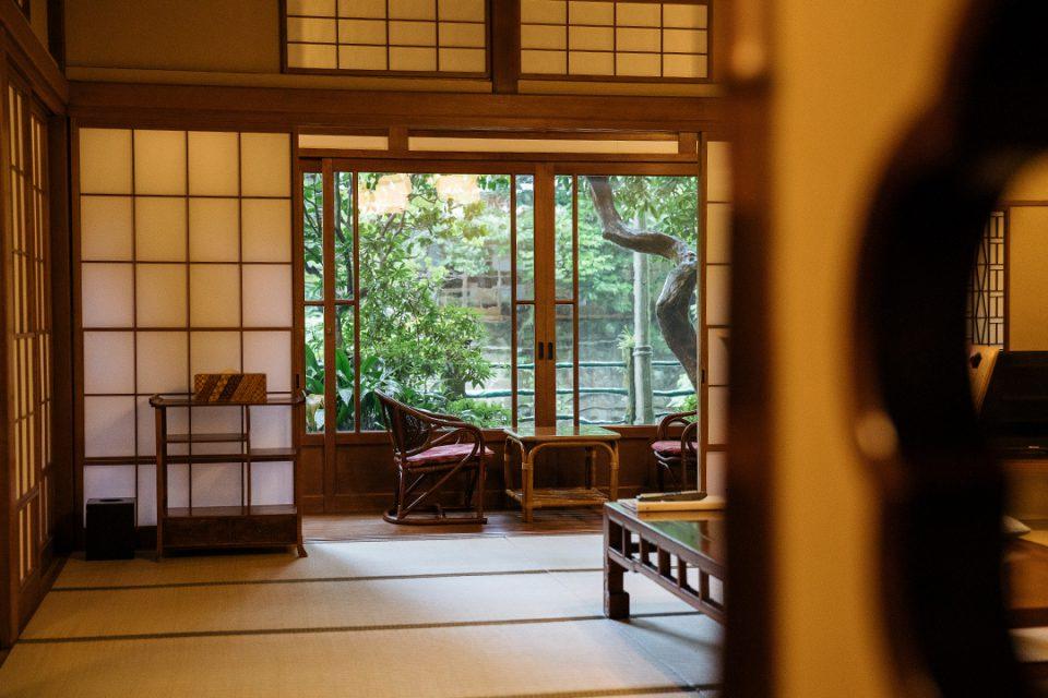 環翠楼本館の客室