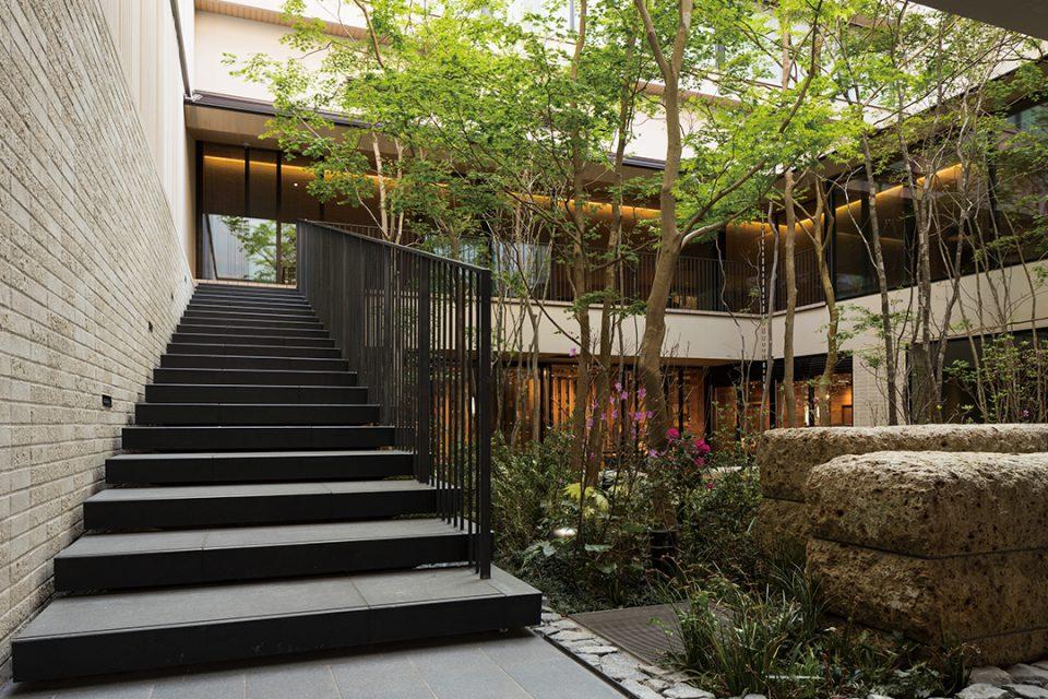 ホテルメトロポリタン鎌倉の庭