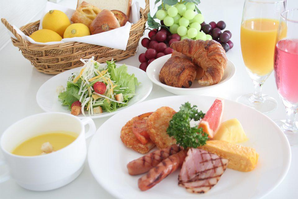 ベストウェスタン横浜の朝食