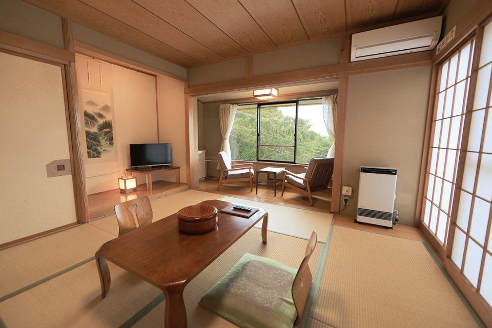 焼肉と海鮮の宿らくの客室