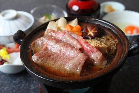 肉の石川のすき焼き2