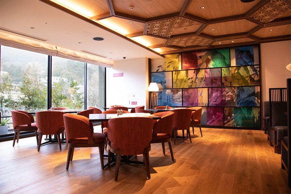 ホテルインディゴ箱根強羅のレストラン1