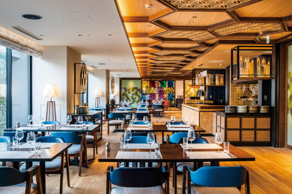 ホテルインディゴ箱根強羅のレストラン2