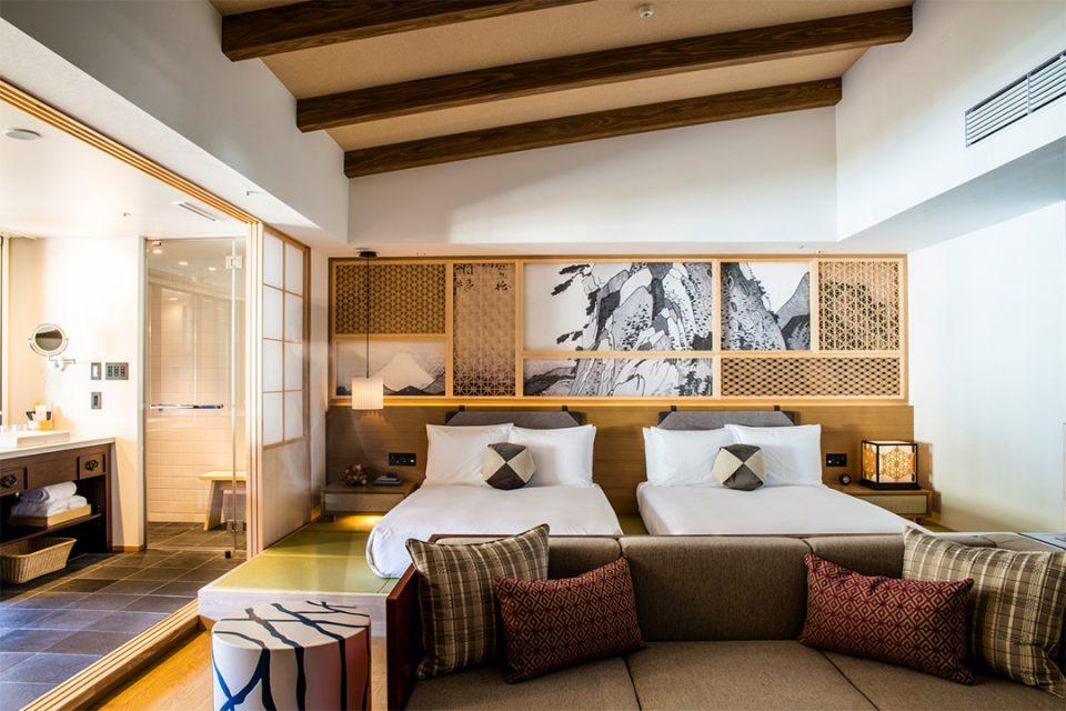 ホテルインディゴ箱根強羅の客室2