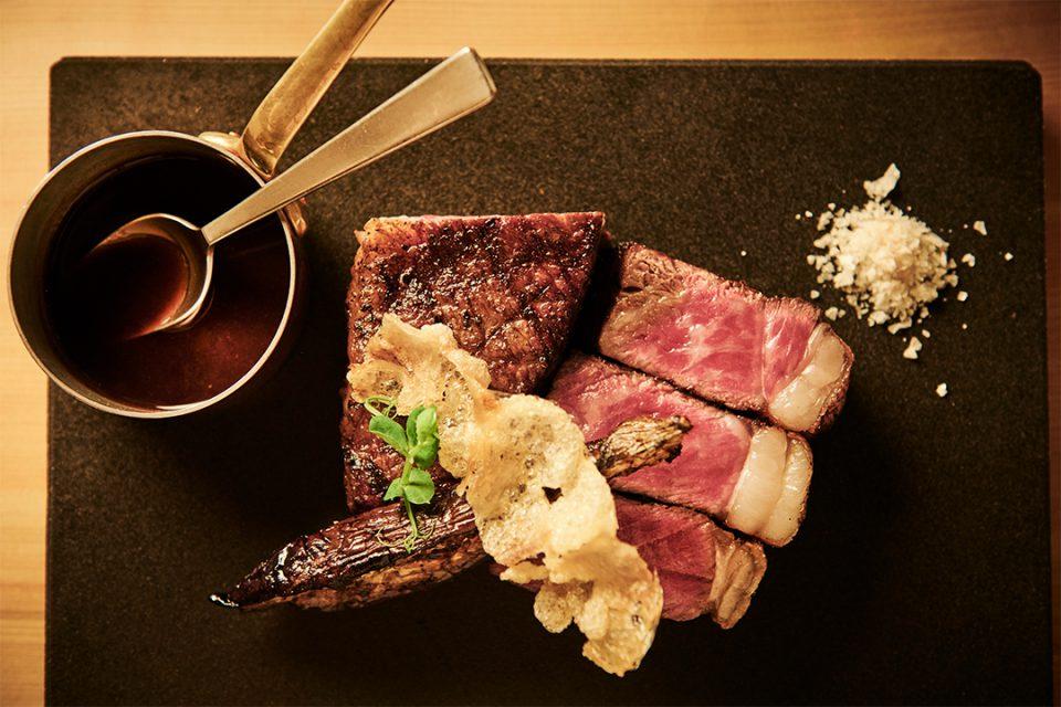 ホテルインディゴ箱根強羅のグリル料理