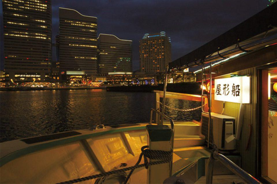 屋形船すずよしから見える夜景