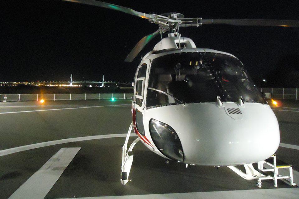 横浜スカイクルーズのヘリ2