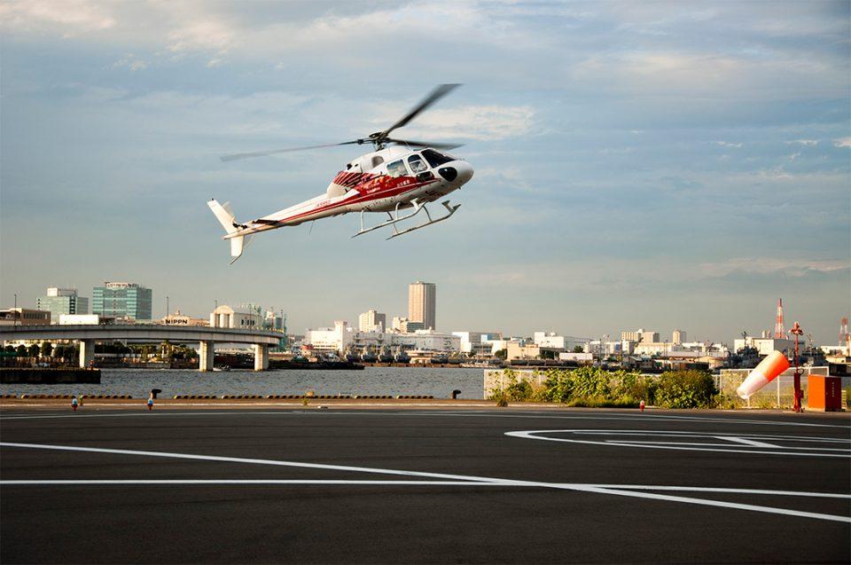 横浜スカイクルーズのヘリ3