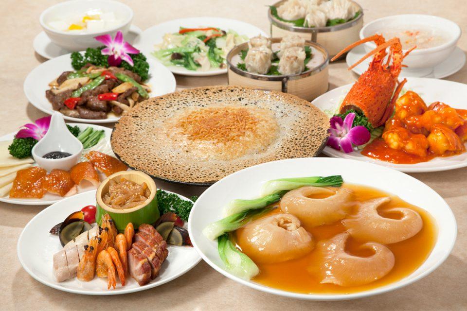 金鳳酒家の料理