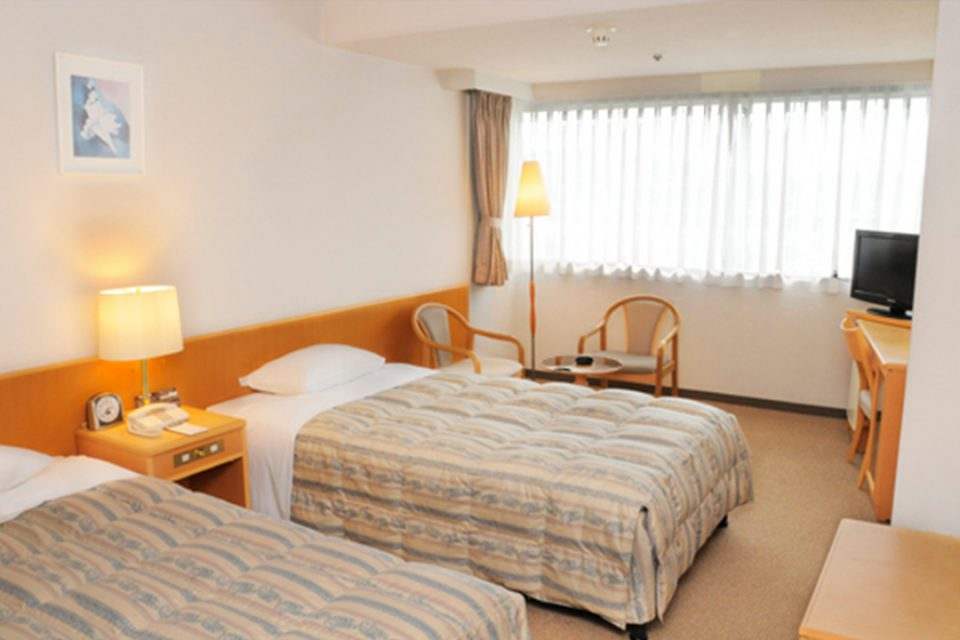 新横浜フジビューホテルの客室2