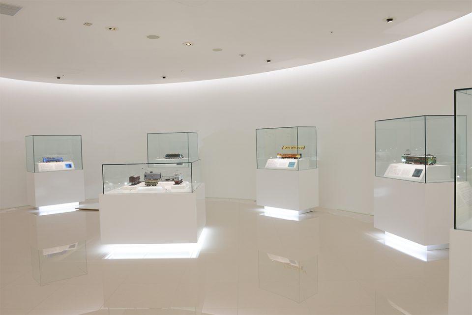 原鉄道模型博物館の第一展示室