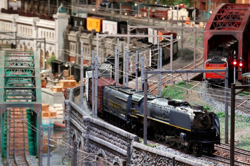 原鉄道模型博物館の鉄道模型