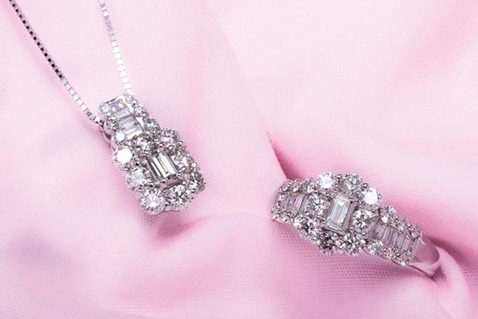 シマミネのダイヤモンドアクセサリー