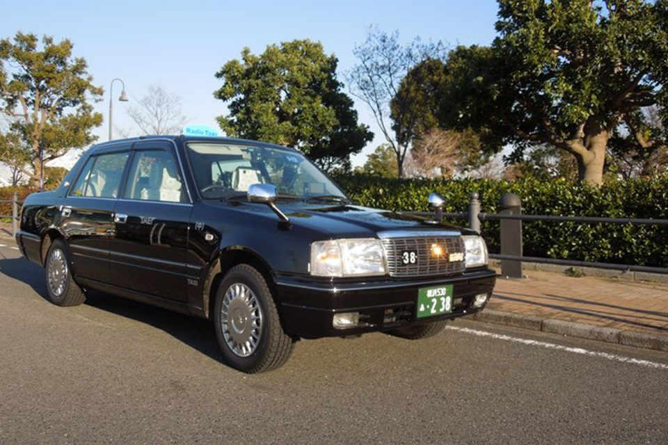 大栄交通のタクシー1