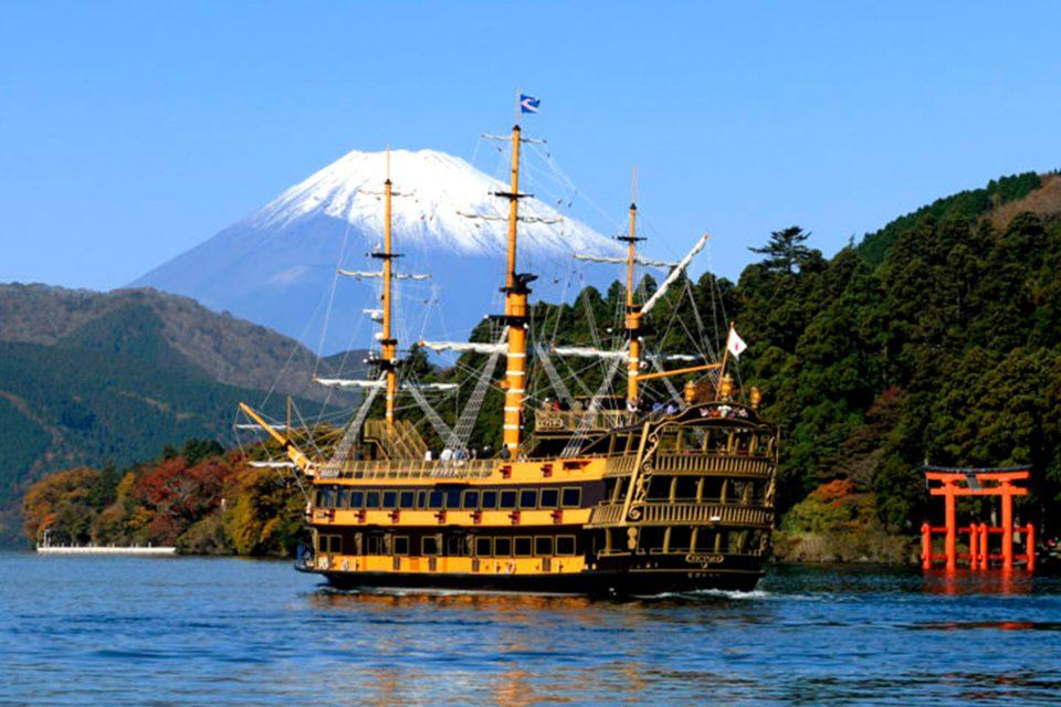 箱根海賊船のビクトリー