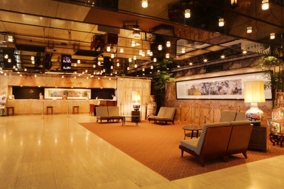 ローズホテル横浜の内観