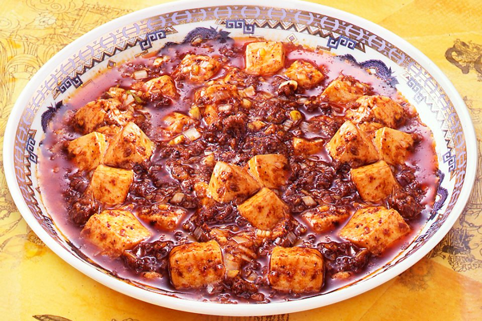 景徳鎮酒家の陳麻婆豆腐