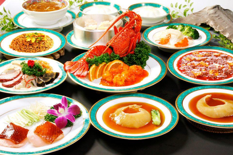 景徳鎮酒家のコース料理