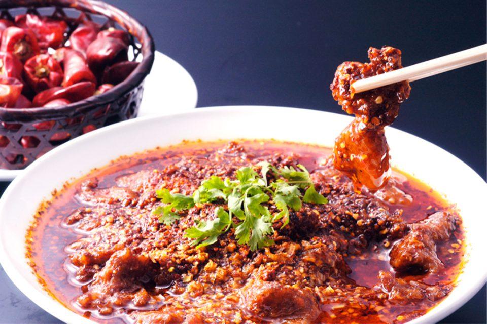 景徳鎮酒家の料理1