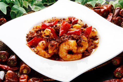 景徳鎮新館の料理2