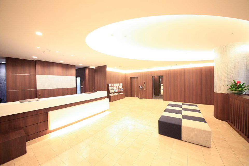 リッチモンドホテル横浜馬車道のフロント