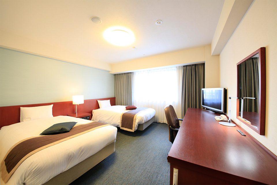 リッチモンドホテル横浜馬車道の客室