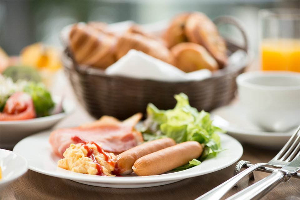 ホテルジャルシティ関内横浜の朝食