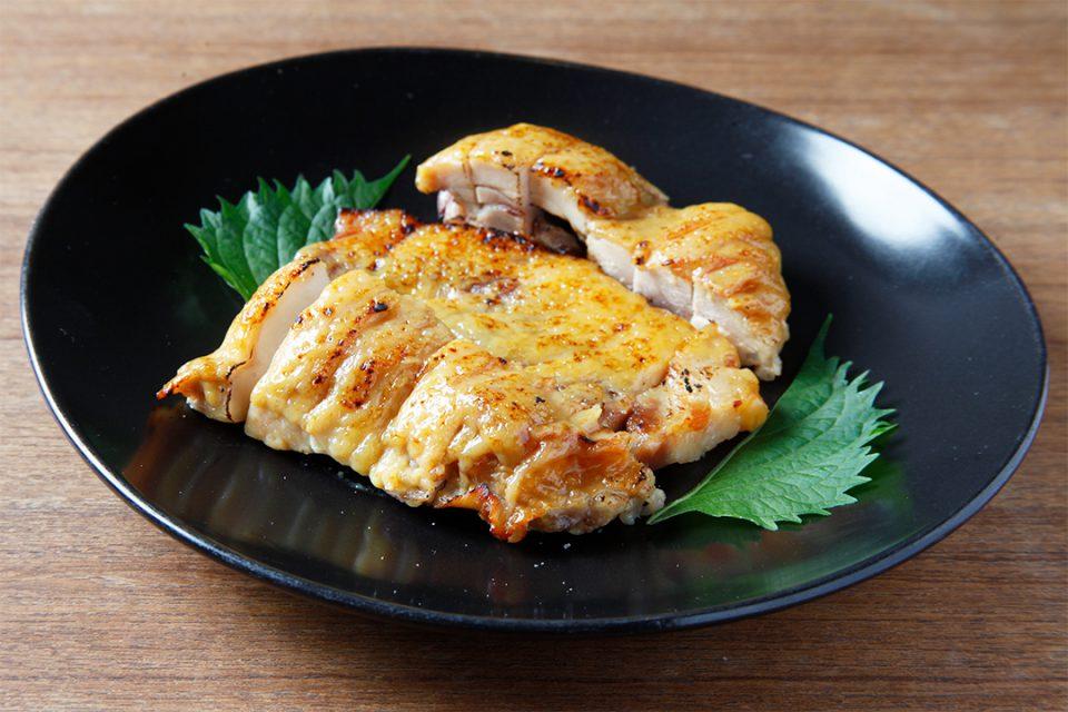 叶家の豚と鶏の西京盛り合わせ