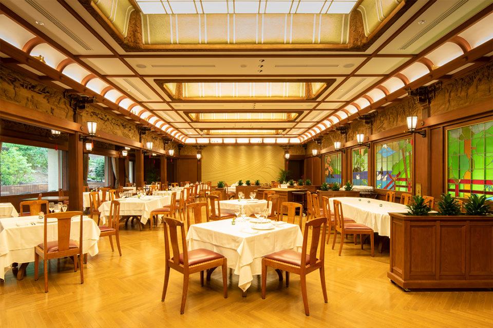 富士屋ホテルのレストラン・カスケード