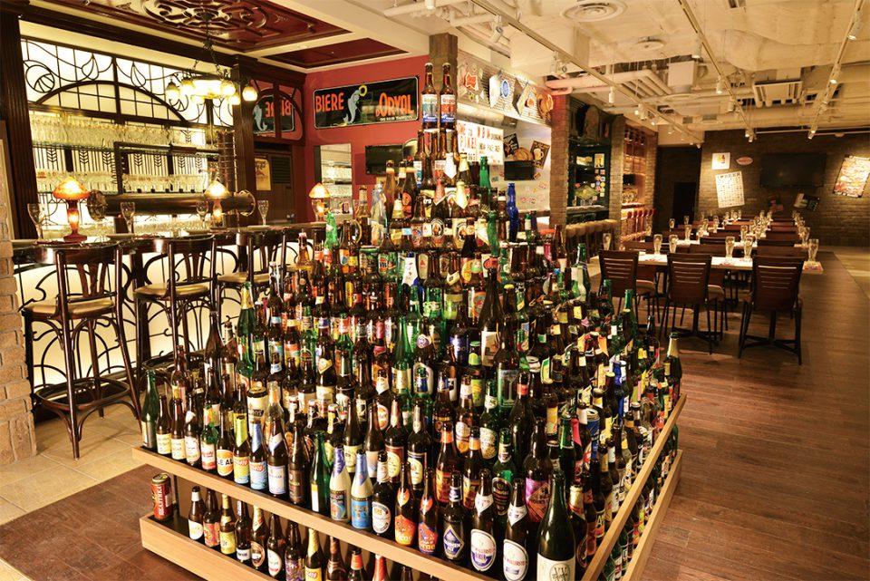 世界のビール博物館のお酒