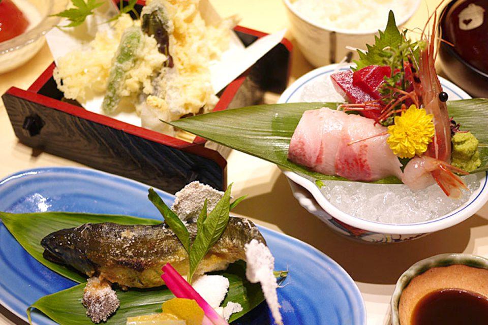 海鮮茶屋魚國の焼魚膳2