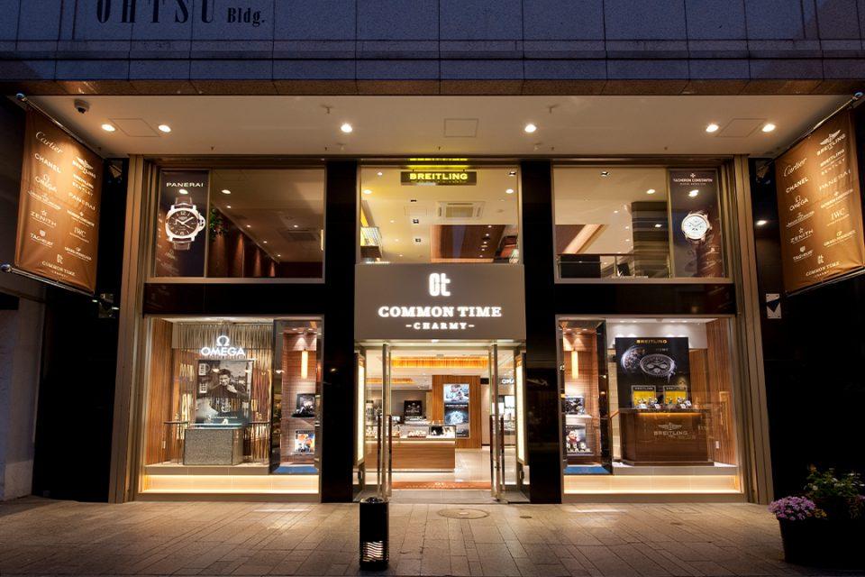 コモンタイム横浜元町本店の外観