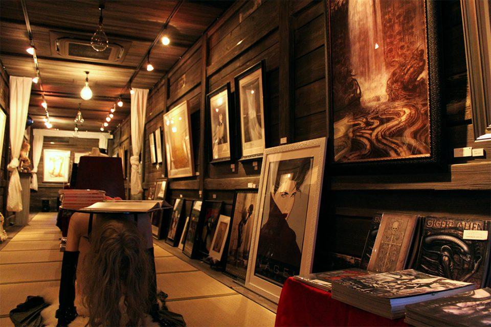 メリーアートギャラリー本館の展示物1