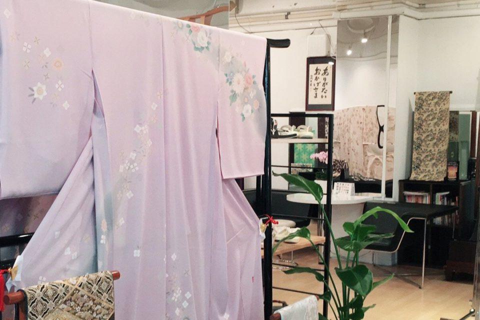きものいわこう横浜元町店の着物1