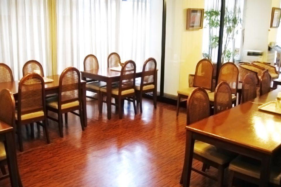 マルタニホテルのレストラン
