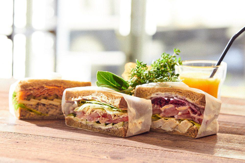 ファイトカフェ横浜のサンドイッチ