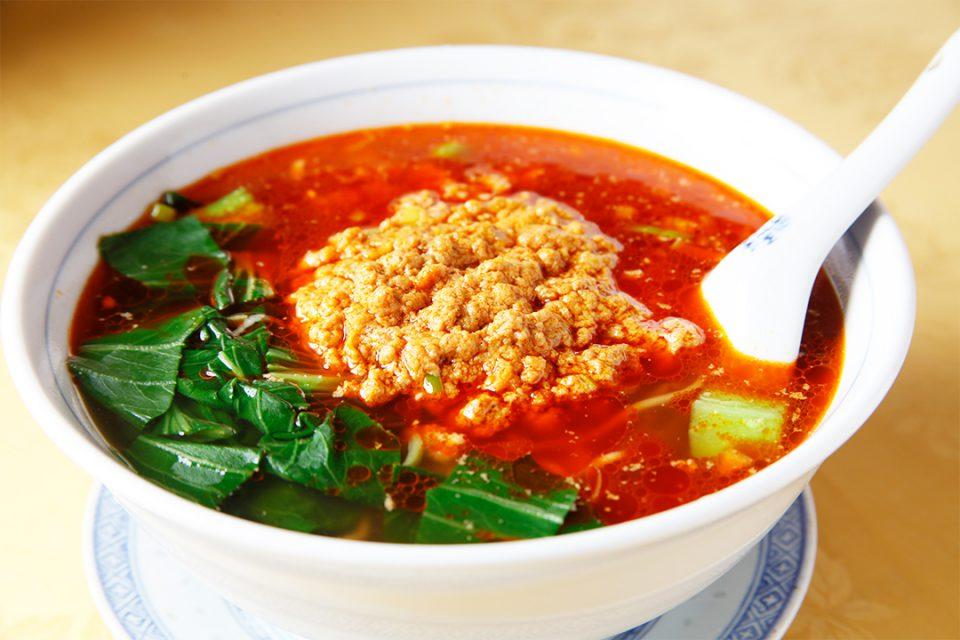 華都飯店の担々麺