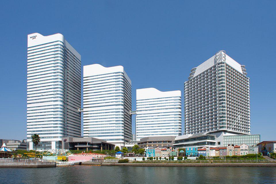 クイーンズスクエア横浜の外観