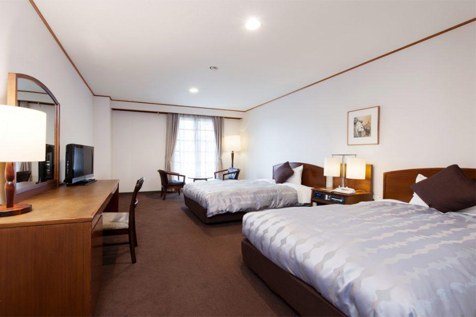 ホテルマロウド箱根のツイン客室