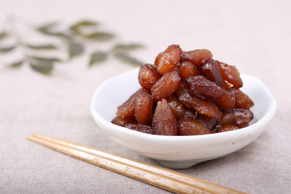 鎌倉源氏庵の落花生煮豆