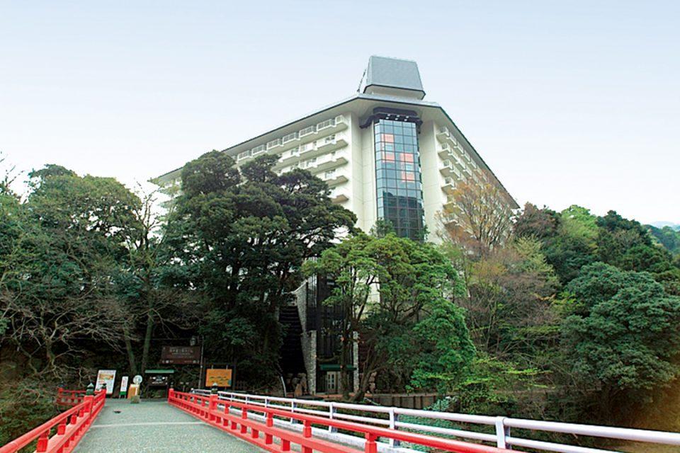 湯本富士屋ホテルの外観