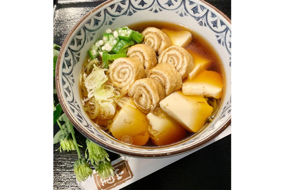 鎌倉山里のベジきつね豆腐そば