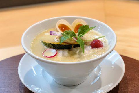 銀座篝鎌倉店の鶏白湯ソバ