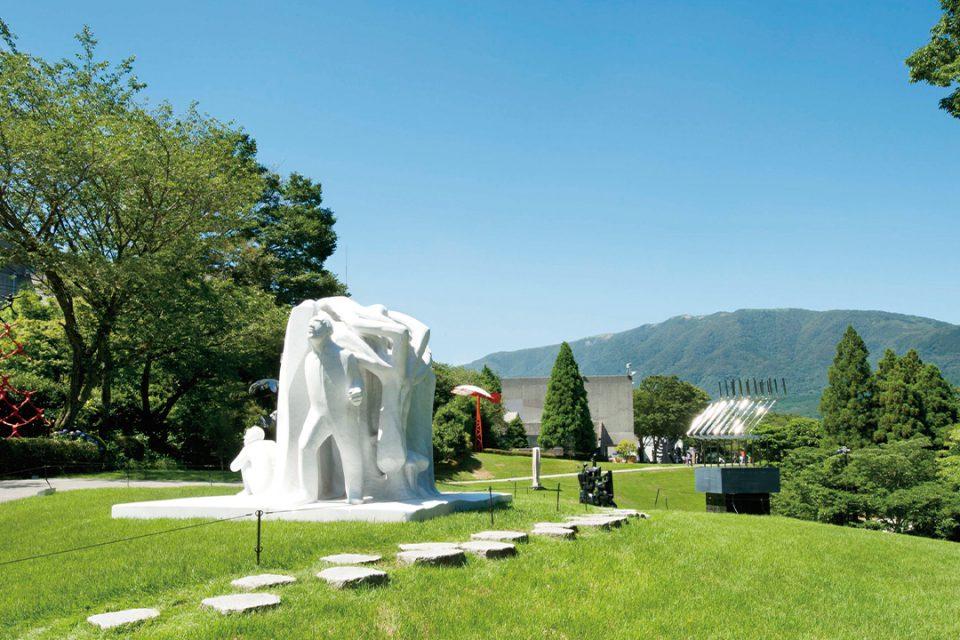 彫刻の森美術館の屋外展示場