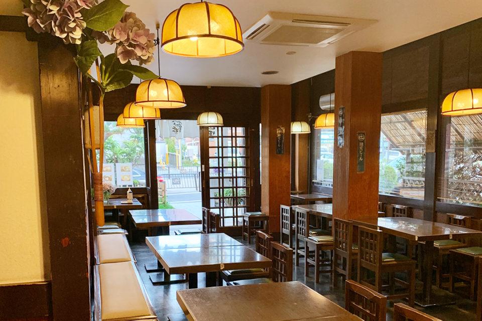 鎌倉山里の店内
