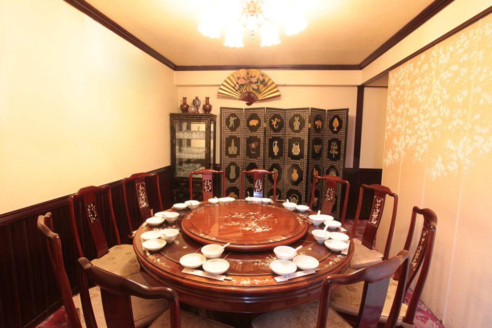 三和楼の個室
