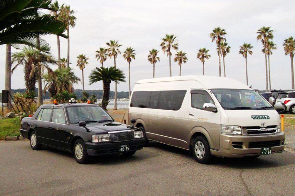 ケージーグループの観光タクシー2