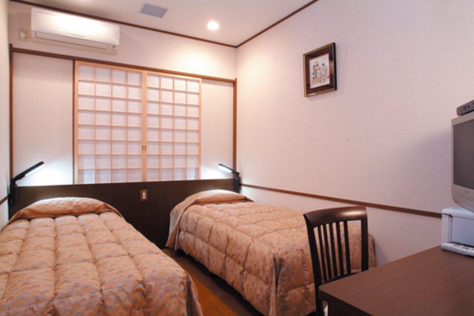 横浜みなとみらい万葉倶楽部の客室